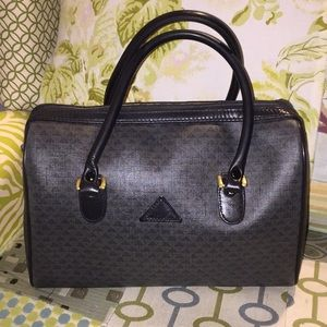 Authentic Vintage Liz Claiborne dark gray handbag